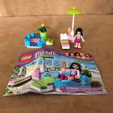 3931 Lego Emma's Splash Pool complete instructions swimming friends girl