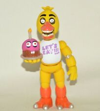 TOY MEXICAN FIGURE BOOTLEG FIVE NIGHTS AT FREDDY'S ANIMATRONICS CHICA 8 INCHES