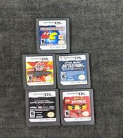 Lot Of 5 Nintendo DS Games. The Amazing Spider-Man, Star Wars Battlefront & More