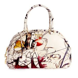 NEW Authentic Prada Fairy Bag *VERY RARE* Limited Edition James Jean Art Design