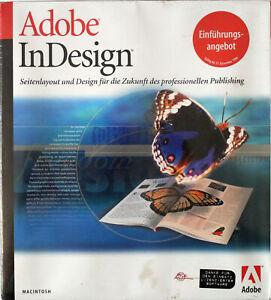 RARITÄT - Adobe InDesign - Macintosh - Deutsch - NEUWARE