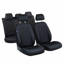 CAR SEAT COVERS FOR AUDI A4 FULL SET DEEP BLACK