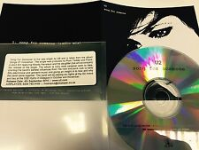 U2 : Song For Someone - Mint Condition UK Cd Promo & Sticker