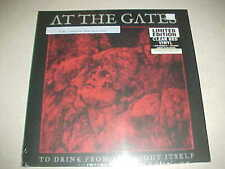 "At The Gates ""To Drink From The Night Itself"" SEALED RED -Vinyl - LP & Booklet"