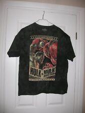 Marvel Avengers Hulk vs. Hulk Buster t-shirt XL new