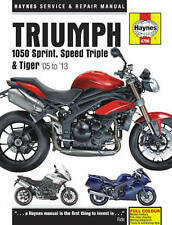 2005-2013 Triumph 1050 Sprint ST Speed Triple Tiger HAYNES REPAIR MANUAL