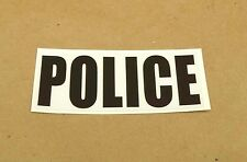 New Harley Davidson Pan Head Shovel Head Police Reflective Fender Decal Sticker