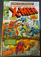 X-Men King-Size Special Comic Book #1, Marvel Comics 1970 NICE Vintage Old Comic