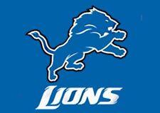 Football Detroit Lions Flag 3 X 5