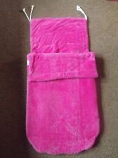 Funky Fleece Buggy Footmuff Cosytoes Liner Pink
