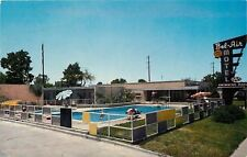 New Orleans~Fulmer Bel-Air Motel & Swimming Pool on Chef Montour 1950s