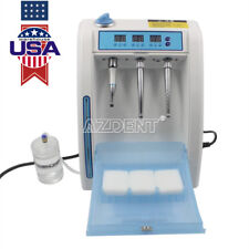 USPS Dental Automatic Handpiece Lubrication System Clean Refueling Oil Machine