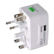 MX Travel Adaptor Universal Type 150 Countries With Usb Charging Port -MX 2731A