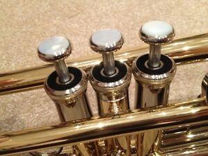 Black Top Cap Felts for Cornet, Trumpet, Tenor Horn, Baritone Etc.
