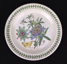 1972 Portmeirion England Bone China Botanic Dinner Plate Blue Passion Flower