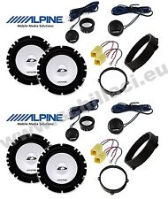 159-3 8 altavoces para coche ALFA ROMEO 159 Alpine
