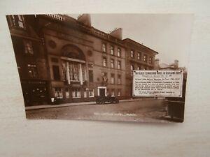 Perth, Scotland - Salutation Hotel - real photo vintage postcard ( 72b )