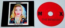 MADONNA - MADAME X - THE REMIXES - 14 TRACK CD - DIGIPAK - CRAVE - GOD CONTROL