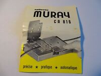 Vintage muray ca 816 Automatic Film Reel Splicer, Boxed 1950's