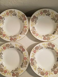 Wedgewood Lichfield-  Soup Bowls- Set of 4