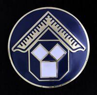 Masonic Pennsylvania Past Master Car Auto Emblem (Dark Blue) PMPA-AE