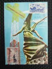 Vatican MK 1970 Broadcasting Stazione Radio Radio MAXIMUM CARD MC cm c4475