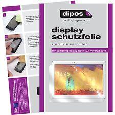 2x Samsung Galaxy Note 10.1 (2014) Schutzfolie klar Displayschutzfolie Folie