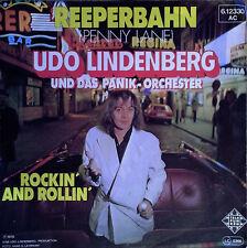 UDO LINDENBERG - REEPERBAHN (PENNY LANE) b/w ROCKIN' & ROLLIN - GERMAN 45 + PS