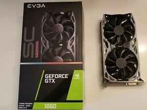 EVGA GeForce GTX 1660 SC Ultra 6GB Graphics Card GPU