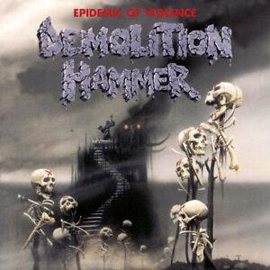 Demolition Hammer – Epidemic Of Violence - CD SEALED * DEATH METAL CLASSIC