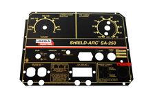Lincoln SA-250 Perkins 3.152 Faceplate/Nameplate (Codes 10073 & 10074) BW1197