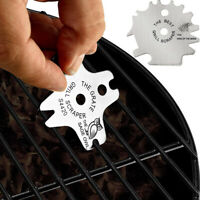 BBQ Cleaning Blade Portable Grill Scraper Stainless Steel Tools