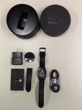 Samsung Galaxy Gear S2 40mm Stainless Steel Case Black Classic Buckle