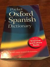 Pocket Oxford Spanish Dictionary Carol Styles Carvajal Horwood textbook used