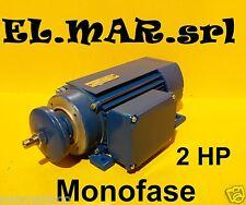 Motore Elettrico Ribassato HP 2 kw 1,5 2800g Banco Sega Circolare Basso Ingombro