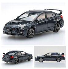 1/43 2014 SUBARU WRX STI DARK GREY EBBRO RARE JDM DIECAST MODEL CAR 45311 BNIB