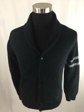 NIKE SPORTSWEAR NSW CARDIGAN BUTTON DOWN SWEATER  MEN'S SIZE SMALL BLACK