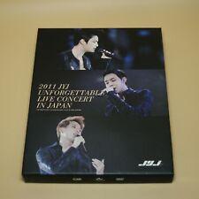 JYJ - Unforgettable live concert in Japan | Limited DVD Album + Photobook