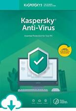 KASPERSKY ANTIVIRUS 2020 1 PC DEVICE 1 YEAR Fast Delivery
