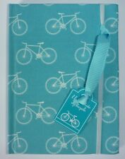 Bicycle Bike Notebook Lined Pages Elastic Retainer Cycling Theme Note Book Gift