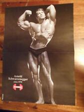 Mr Olympia ARNOLD SCHWARZENEGGER bodybuilder muscle bodybuilding fitness poster
