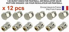LOT de 12 pcs - RUPTURE DISQUE 1,8K pour REGULATEUR AIR PAINTBALL - PROMOTION