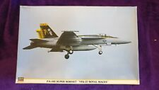 Hasegawa 1:48 F/A-18E SUPER HORNET VFA-27 'Royal Maces' Model Kit #09877 SEALED