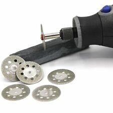 6x Mini Diamant Trennscheiben 22mm Schleifer Schleifgerät Schleifmaschine / D28