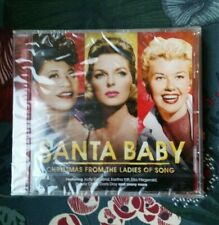 *NEW* SANTA BABY CHRISTMAS FROM THE LADIES OF SONG CD GARLAND KITT DAY LEE LYNN
