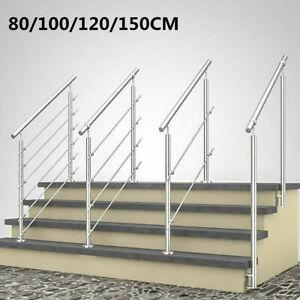 Edelstahl Treppengeländer Handlauf Geländer Bausatz Treppen Brüstung Querstab GH