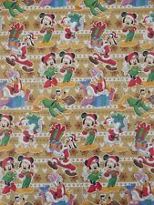 X/LARGE 1M SHEET MICKEY MOUSE AND FRIENDS CHRISTMAS GIFT WRAPPING PAPER