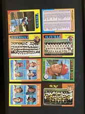 1975 Topps Mini Pick Choose Finish Your Set Cards (#516 Thru #659) Nm, Nm/Mt