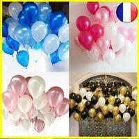 30 pcs Or Noir Latex Hélium Ballons Mariage Anniversaire Baby Décor Enfant Jouet