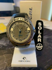 Rip Curl Mens A2497 SIL Solar Powered Analog Sports with Rotating Bezel Watch